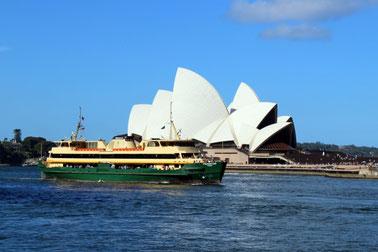 Opernhaus, Opera House, Sydney, Australien