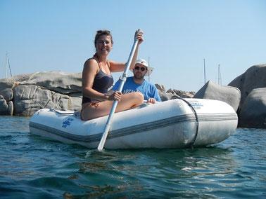 Akitvurlaub mitsegeln im Mittelmeer