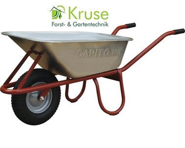Tiefmuldenkarre, Baukarre, robuste Schubkarre für die Baustelle, Haus, Hof und Garten von Kruse Gartentechnik in 32469 Petershagen