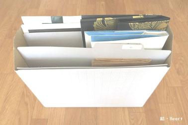 紙袋 収納 ファイルボックス