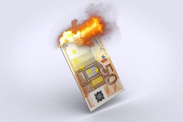 Darf ein Stadtrat Geld verbrennen?