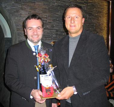 2009: Jahresabschluss / Polit-Talk mit MdEP Manfred Weber