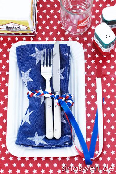 Einladung zum american diner rezept tischdeko und for Amerikanische deko