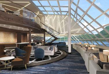 Horizon-Lounge // © Norwegian Cruise Line