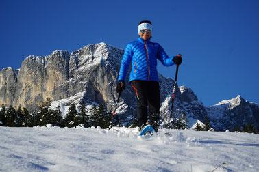 Schneeschuhtouren mit Hilde Bauhofer - ein zauberhaftes Wintererlebnis