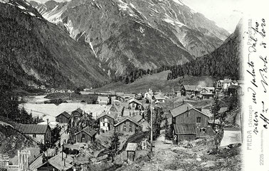 Verlag Alterocca Terni Italien,gestempelt 25. Juni 1905