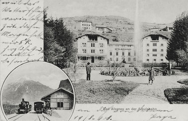 Engadin Press Co, gestempelt 19.08.1908