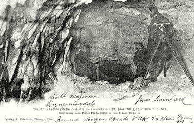 Verlag A. Reinhardt Chur, gestempelt 30.05.1906