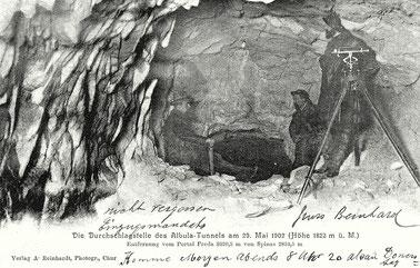 Verlag A. Reinhardt Chur, gestempelt 30. Mai 1906