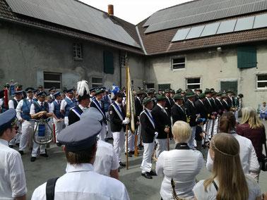 Schützenfest Menzel mit dem Musikverein Jugendlust Scharmede