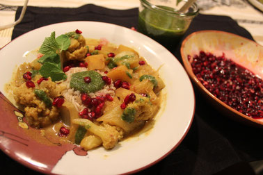 Blumenkohl-Kurkuma-Curry