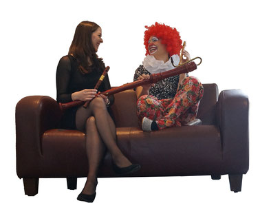 Christine Schreier und Maria Dorner-Hofmann, Blockflöten