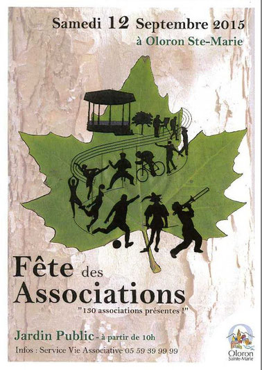 affiche fête association 2015 oloron article blog marie fananas écrivain
