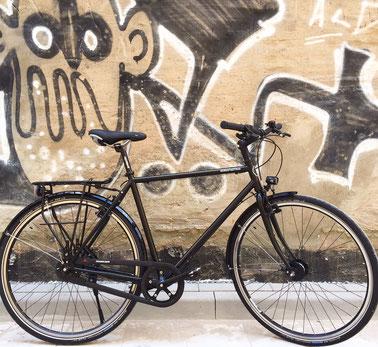 Nordstadtrad Fahrradcafé Hannover Graffiti