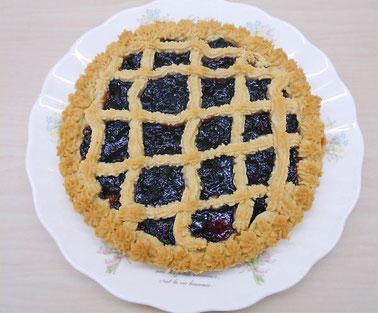 Cramberry-jam-tart