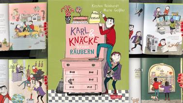 Karl und Knäcke lernen Räubern, Buch von Kirsten Reinhardt