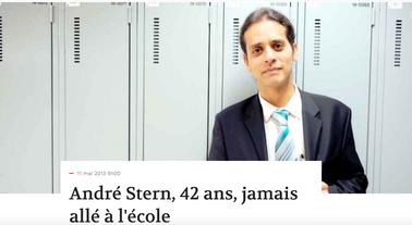 André Stern, 42 ans, jamais allé à l'école