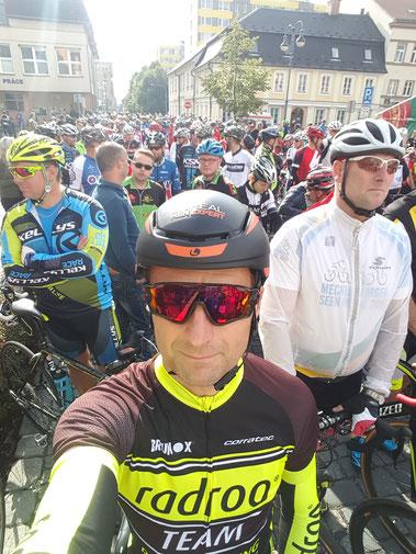 """Robby Dietrich am Start bei der """"Tour de Zelenak"""" - empfehlenswertes und gut organisiertes Rennen"""