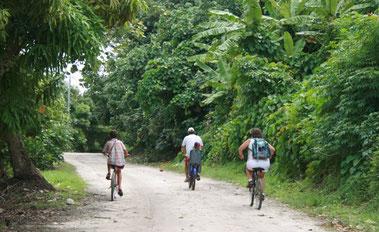 Quand on partait sur les chemins!...à bicyclette