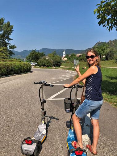 E-Scooter und Mobility Verleih in der Wachau das Ausflugsziel in Niederösterreich Freizeit und Urlaub bei Wein, Marille und Kultur.