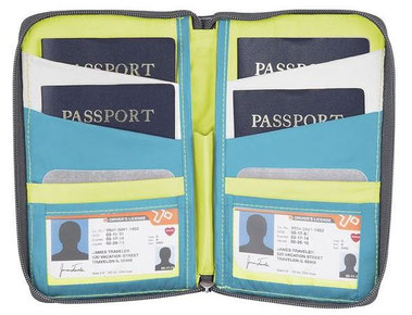 Travelon Daisy Family Passport Holder