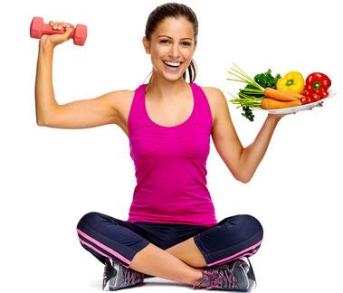 Produkte, die dich beim Fettabbau (Diät) unterstützen.