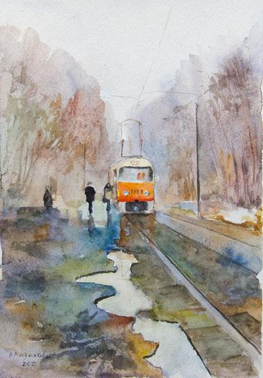 """Татьяна Казакова. """"Весенний день"""", 2007"""