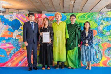 長崎市「平和の文化」事業認定式の様子