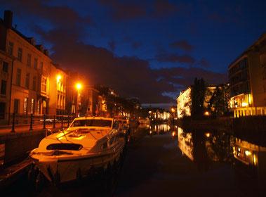 Gent, Yachthafen Lindenei