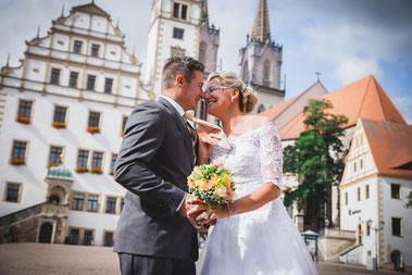 Wunderschöne Hochzeitsmomente mit Maritta und Steffen in Oschatz.