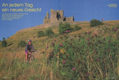 """Die geschichtsträchtigen Ruinen des """"Rock of Cashel""""."""