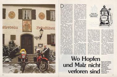 """Brauereigasthof """"Winkler Bräu"""" in Velburg/Lengenfeld: Über Nacht hat der Winter Einzug gehalten..."""