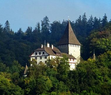 das Schloss des Obervogtes aus der Perspektive seiner Untertanen