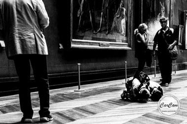 paris, louvre, street photography, noir et blanc, black and white, art, CarCam, je shoote, musée, travel, david