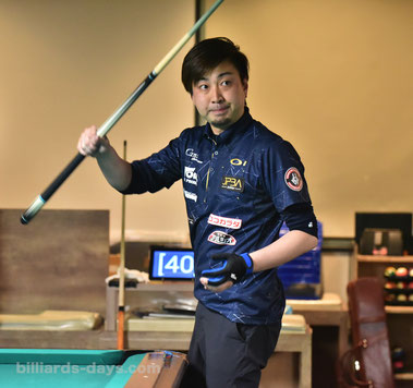 Naoyuki Oi won JPBA Grand Prix East stop#2 in Nishiurawa, Saitama.