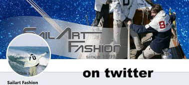 Sailart Fashion Segeltuchjacke Taschen Segelmode UNIKAT
