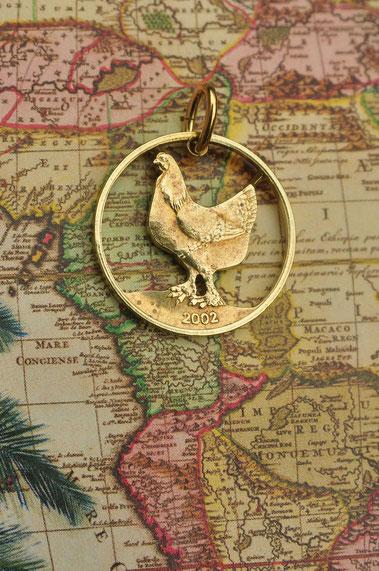 Münzsägewerk Katrin Thull | Kongo - Huhn
