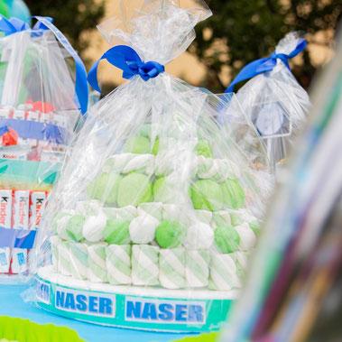 Torta Marshmellow per feste bambini