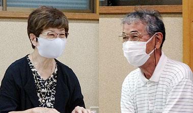 横溝和子さん(左)と奈良さん