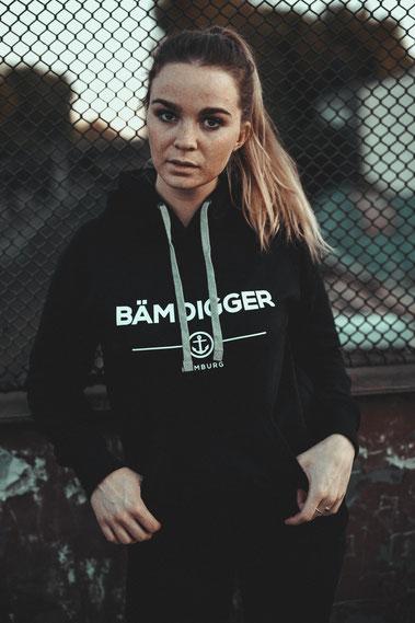 Frauen Hoodie von BÄM DIGGER