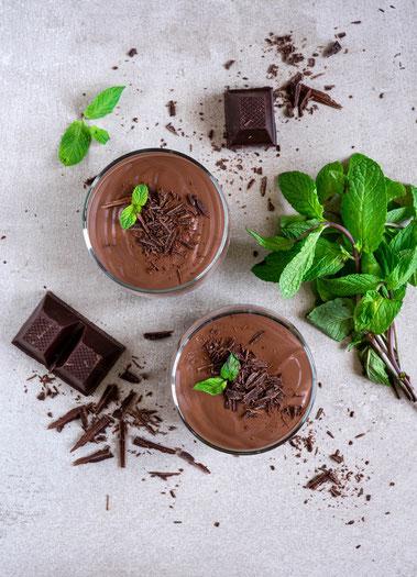 mousse au chocolate, chocolate, mousse, dessert, Nachttisch, schokolade