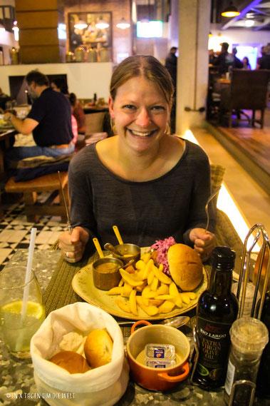 Brewers and Butchers, Essen, Swakopmund, Namibia, Katja, reiseblog, weltreise