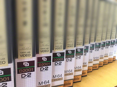 D2 HDCAM XDCAM MPEG422 アーカイブ アニメ制作会社