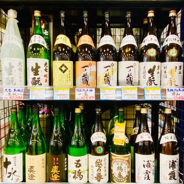 入手困難な日本酒・焼酎の画像