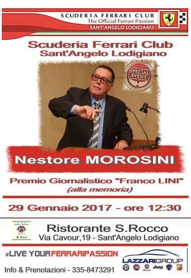 """Premio """"Franco Lini""""  (alla memoria) - 29 Gennaio 2017"""