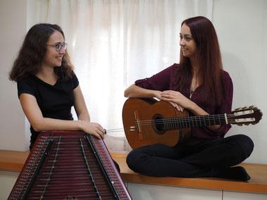 Katharina Dürrschmid und Melanie Lampl