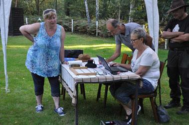v.l.n.r.: Beatrix Feix, Dr. Jens Kerl, Petra Biallas und Frank Soemers