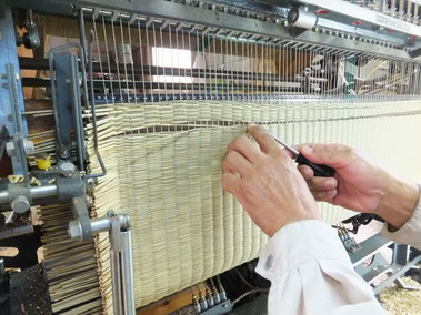 ビーグ織り機