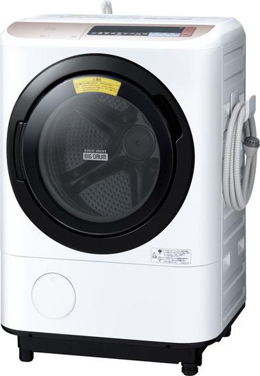 日立のドラム型洗濯機 NXシリーズの画像です。