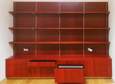 meuble bibliothèque sur mesure par technibois menuiserie trichereau